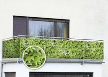 WENKO Osłona balkonowa z motywem dzikiego wina - 500 x 85 cm - dzikie wino 79501