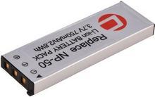 Carat Electronics Oryginalne  Litowo-Jonowy zastępczy akumulator NP-50m. in. pasuje do Casio Exilim EX-V7, v8, 13255