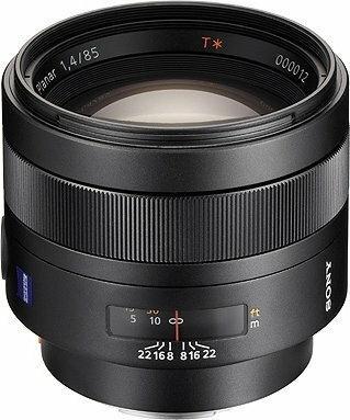 Sony T 85mm f/1.4 Planar