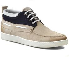 Strellson Trzewiki - Forest Boat Shoe 4010001594 Offwhite 101