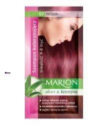 Marion Aloes & Keratyna 4-8 myć szampon koloryzujący w saszetce 97 Wiśnia 40ml