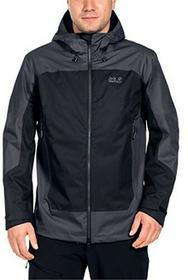 Jack Wolfskin North Slope kurtka turystyczna przeciwdeszczowa, męska, czarny, XXXL 1108381-6000007