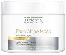 Bielenda Professional Maska algowa do twarzy z koloidalnym złotem 190g