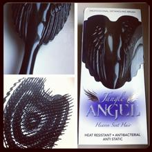 Tangle Teezer TANGLE ANGEL DETANGLING BRUSH BLACK SZCZOTKA DO WŁOSÓW