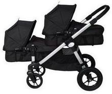 Baby Jogger City Select DOUBLE 2w1 BLACK