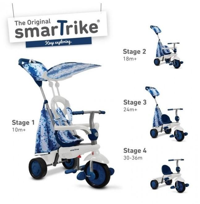 Smart Trike Spirit 4w1N