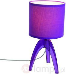 Näve Modna lampa stołowa Ufolino, fioletowa