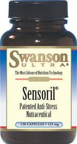 SWANSON Sensoril Anti-Stress Nutraceutical 120 szt.