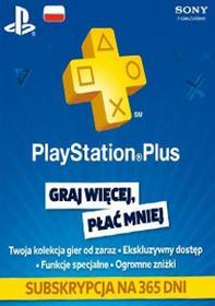 PlayStation Network Plus 365 dni subskrypcja