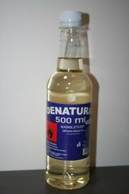 Denaturat Denaturat 0,5l  plastik, bezbarwny Den000001