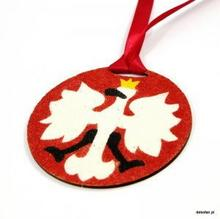 Dekofan Kolorowe PiasKlejki Medal Godło