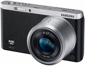 SamsungNX Mini + 9-27 mm czarny