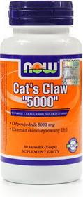Now Foods Cats Claw 5000mg Koci pazur 60 szt.