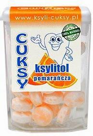 Pięć Przemian Cuksy pomarańczowe - cukierki bezcukrowe z ksylitolem 13g