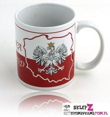 Kubek Polska Orzeł Biało Czerwony pamiątka 0873