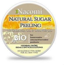 Nacomi Peeling cukrowy - pomarańcza, macadamia 100ml