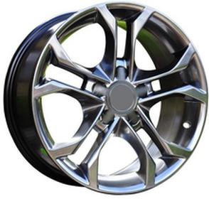 Racing Line GUN METAL 16'' 5X112 AUDI A3 A4 A6 VW 16X7.5 5X112 ET35 66.5 5709 (BK227) HB For car Aud