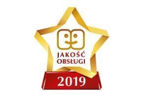 Gwiazda jakość obsługi 2019 Skapiec.pl