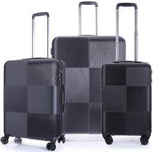 March Komplet walizek na 4 kółkach avenue set black