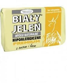 Pollena Hipoalergiczne mydło naturalne PREMIUM z owsem i lnem 100g