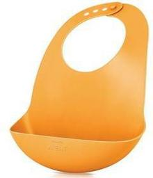 Śliniaczek plastikowy z kieszonką Philips AVENT, pomarańczowy
