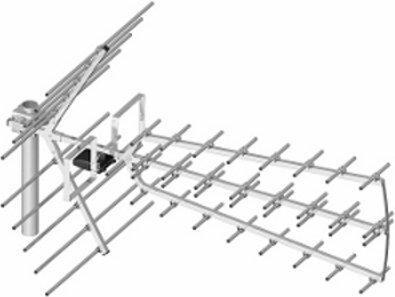 Dipol Antena telewizyjna UHF 44/21-69 Tri Digit