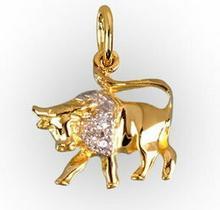 Tyfanit Złoty znak zodiaku - byk ZZ2