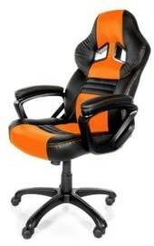 AROZZI Monza - Fotel gamingowy - pomarańczowo czarny MONZA-OR