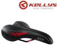 Kellys Driveline Czarno-Czerwone Zwiększ Komfort Podróżowania Z Markowymi Siodłami Kellys 8585019347091