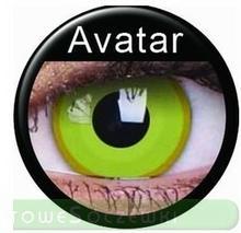 Maxvue Vision Crazy Wild Eyes - Avatar 2 szt.
