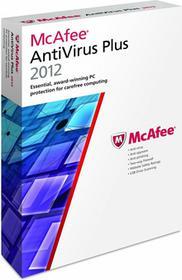 McAfee AntiVirus Plus 2012 (3 stan. / 1 rok) - Nowa licencja