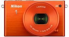 Nikon 1 J4 + 10-30 kit pomarańczowy