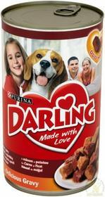 Purina Darling mokra karma dla psa z mięsem i wątróbkš 1,2 kg