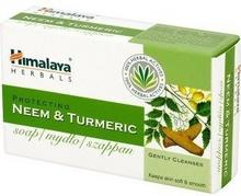 Himalaya Herbals Oczyszczające Mydło w kostce Neem i Kurkuma 75g