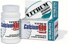 Unipharm Vitrum Calcium 600 + witamina D 400 60 szt.