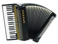 Hohner Atlantic IV 120 akordeon czarny)