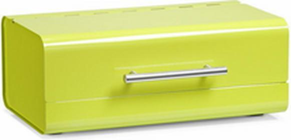 Zeller Metalowy chlebak, Chlebak - zielony 27348 zielony 11C2
