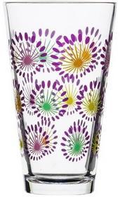 Sagaform Szklanki duże 300 ml Fantasy, 4-pak, pastelowe kolory