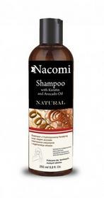 Nacomi Szampon do włosów z olejem Avocado i hydrolizowaną keratyną 250ml