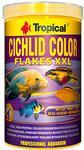 Tropical Cichlid Color Flakes XXL pokarm wybarwiający dla pielęgnic 1l/160g