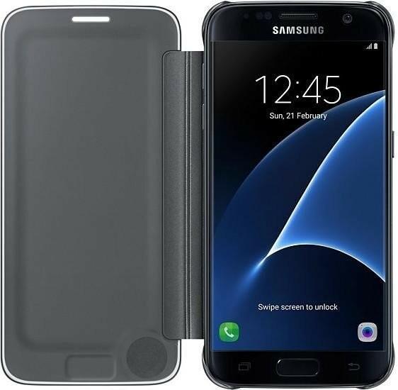 Samsung Galaxy S7 Clear View Cover EF-ZG930CB czarny EF-ZG930CBEGWW