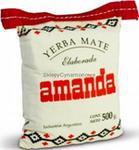 Yerba Mate Amanda Kits lniany worek 500g