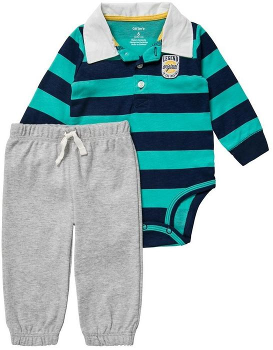82a58186e1 Carters SET Body blue turquoise grey 121G826 – ceny