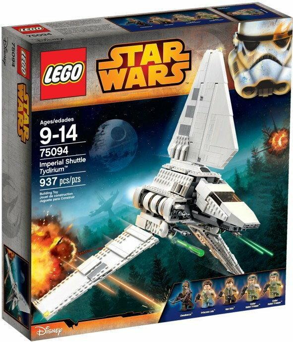 LEGO Star Wars Imperialny wahadłowiec Tydirium 75094