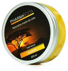 PharmaVita KARITE Naturalne masło do ciała; 200 ml 200ml