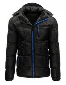 Kurtka męska zimowa czarna (tx1415) tx1415_m Czarny