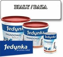 Jedynka farba akrylowa Farba fasadowa Biała/ Baza 2.7L HAN08828