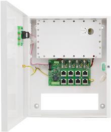 PULSAR POE044816 Zasilacz PoE 48V 4x0,4A impulsowy do CCTV