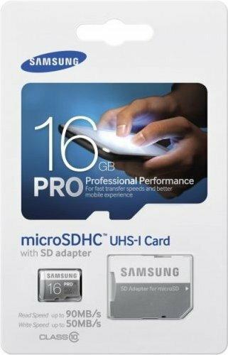 Samsung MicroSDHC Pro Class 10 16GB