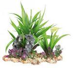 Opinie o Trixie Plastic Plant In Gravel Bed. 28 Cm Akwarium- Rób Zakupy I Zbieraj Punkty Payback - Darmowa Wysyłka Od 99 Zł